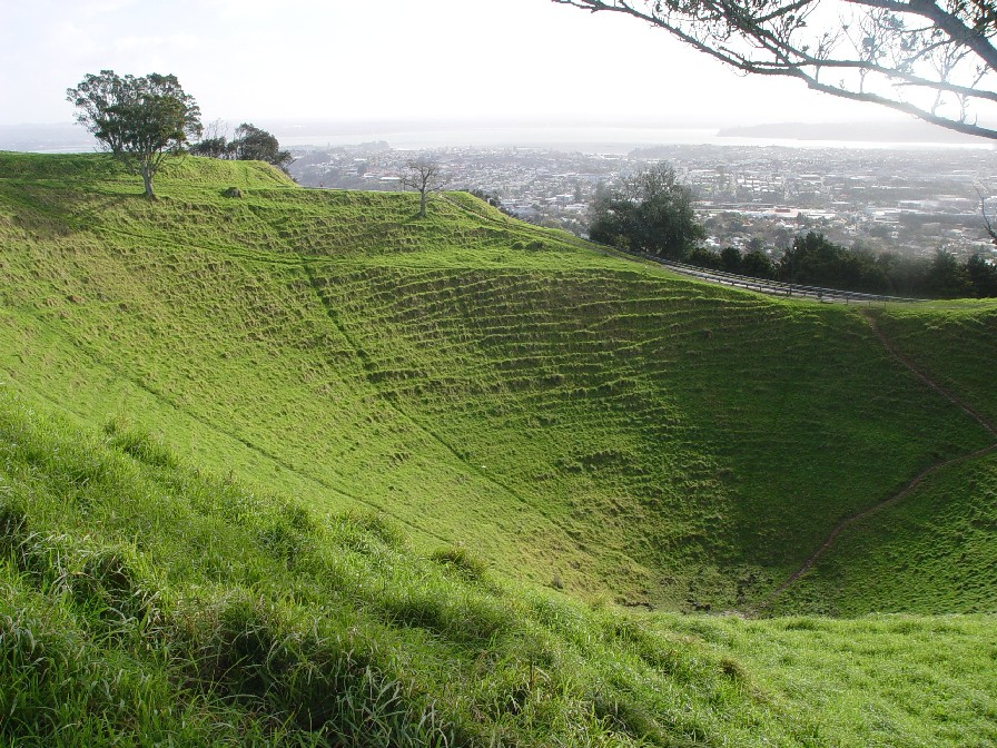 Mount Eden in Auckland