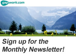 Sign up to the Gapwork.com newsletter for jobs and competitions